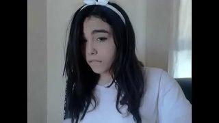 cute trans girl with braces teasing – ifap2.info/ haley